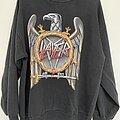 Slayer - TShirt or Longsleeve - Slayer 1990 European Campaign Tour Sweatshirt