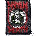 Napalm Death 1990s Patch - Patch - Napalm Death 1990s patch