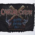 Cannibal Corpse - Patch - Cannibal Corpse 1993 Hammer Smashed Face Patch