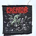Kreator - Patch - Kreator 1990 Pleasure To Kill patch