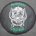 Motörhead - Patch - Motörhead England 1980s Snaggletooth official patch