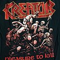 Kreator - pleasure to kill shirt