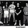 SLAPSHOT - Other Collectable - SLAPSHOT - Original Promo Sedcard from 1991 - Size 5'' x 7''