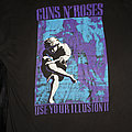 GUNS 'N' ROSES - Use Your Illusion 2 - Shirt from the European Tour in Cologne in Size XL