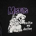 Misfits - TShirt or Longsleeve - MISFITS - DIE DIE MY DARLING - Official Shirt from 2001 - Size M