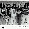 Suffocation - Other Collectable - SUFFOCATION - Original Promo Sedcard from 1992 - Size 5'' x 7''