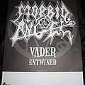 Morbid Angel - Other Collectable - MORBID ANGEL - Original Tour-Poster from 1998 - Size A1 © EARACHE