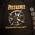 PESTILENCE - Testimony of the Ancients - Extravaganza of Europe - Official Tour Longsleeve 1992 - Size XL TShirt or Longsleeve