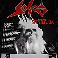 SODOM - Agent Orange Tour '89 - Original Tour-Poster from DRAKKAR Promotion (Size A1)