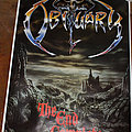 OBITUARY - The End Complete - Original Tour Poster from 1992 - White Border Version (Size A1) Other Collectable