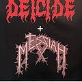 Deicide - Other Collectable - DEICIDE / MESSIAH - Original Tourposter from 1990 - Size A1