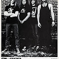 Cancer - Other Collectable - CANCER - Original Promo Sedcard from 1991 - Size 5'' x 7''