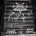 DARK FUNERAL / ENTHRONED / LIAR OF GOLGOTHA - Original Tour Poster from the Ineffable Kings of Darkness Tour 1998