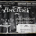 ANCIENT / BELPHEGOR / BEHEMOTH - Original Tour Poster from the Germany Tour 1998