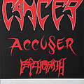 Cancer - Other Collectable - CANCER / ACCU§ER / PSYCHOPATH - Death Shall Rise Tour Poster from 1991 - Size...