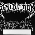Benediction - Other Collectable - BENEDICTION / MASSACRA - Official Tour Poster from the 1991 European Tour - Size...