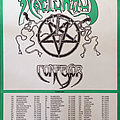 Nocturnus - Other Collectable - NOCTURNUS - European Thresholds Tour 1992 - Original Tourposter - Size A2