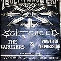 Bolt Thrower - Other Collectable - BOLT THROWER / SENTENCED - Fuck Price Politics Tour 1996 - Original Tourposter