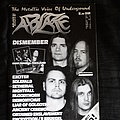 ABLAZE Magazine No. 20 including DARK FUNERAL / ENSLAVED Poster from 1998 - The Metallic Voice of Underground