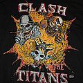 CLASH OF THE TITANS - Official European Tour Pullover from 1990 - Size L