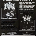 Immortal - Other Collectable - IMMORTAL / MARDUK / MAYHEMIC TRUTH - Original Sons of Northern Darkness Tour...