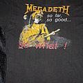 MEGADETH - So Far, So Good... So What! - Official & Original 1987 Shirt (Size L)