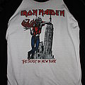 Iron Maiden - TShirt or Longsleeve - IRON MAIDEN - The Beast in New York 1982 - Original & Official Raglan Longsleeve...