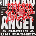 Morbid Angel - Other Collectable - MORBID ANGEL / SADUS / UNLEASHED - Original Tour Poster from 1991 - Size A2