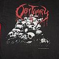 Obituary - TShirt or Longsleeve - OBITUARY - Pile of Skulls Official Tour-Shirt - UK & European Tour 1991 - Blue...