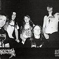 BENEDICTION - Original Promo Sedcard from 1991 - Size 5 x 7''