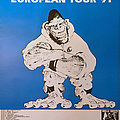 Gorilla Biscuits - Other Collectable - GORILLA BISCUITS - Original Tour Poster from the European Tour 1991 - Size A2