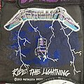 Metallica Ride The Lightning 2013 Patch