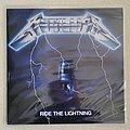 Metallica - Tape / Vinyl / CD / Recording etc - Metallica - Ride the Lightning Vinyl