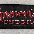 Immortal Damned in black Patch
