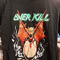 Overkill Birth Of Tension 1990 World Tour
