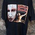 Marilyn Manson - TShirt or Longsleeve - Marilyn Manson Guns, God and Government Tour 2001