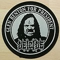 Glen Benton DEICIDE Patch