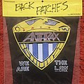 Anthrax We are the law back patch 1988.