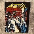 Anthrax - Patch - Anthrax back patch spreading the disease