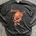 Sepultura tour sweater 1990
