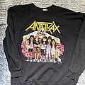 Anthrax state of euphoria sweater 1988