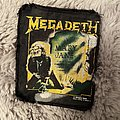 Megadeth Mary Jane patch 1988