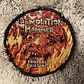 Demolition Hammer - Patch - Demolition hammer tortured existence circle patch