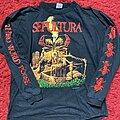 Sepultura - TShirt or Longsleeve - Sepultura third world posse 1992 tour shirt