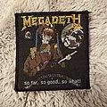 Megadeth so far so good so what patch