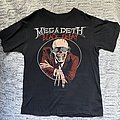 Megadeth Black Friday shirt 1986