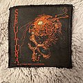 Sepultura beneath the remains 1990 patch