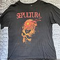 Sepultura beneath the remains shirt 1990