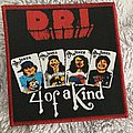 D.R.I. 4 of a kind patch