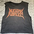 Nuclear assault hang the Pope shirt